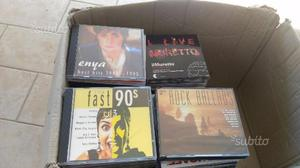 Stock cd musicali oltre 100 pezzi