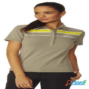 T-shirts tecniche manica corta Odlo Polo Shirt Stripes S/s