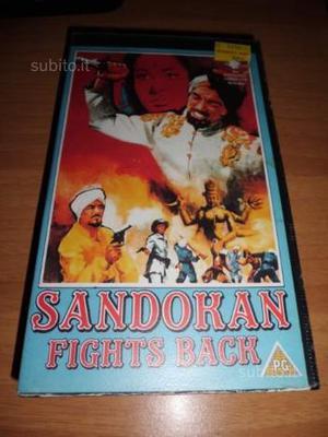VHS- Film in lingua inglese -Sandokan Fights Back