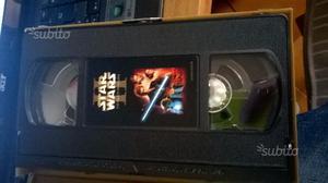VHS Star wars episodio 1 e 2