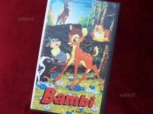 Vhs Bambi Eclecta (rarità)