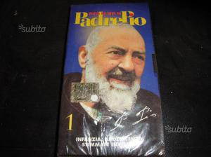 Videocassetta Padre Pio di 41 minuti incelofanata