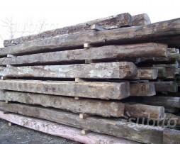 Antiche travi in legno