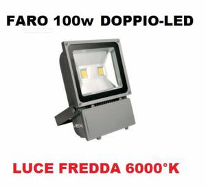 Faro 2 led ultra-slim ip watt luce fredda