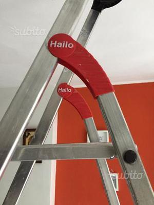 Hailo L60 scala 8 gradini ultraleggero alluminio