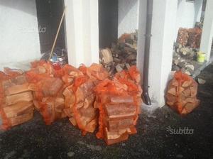 Legna da ardere in sacchi da 30 kg