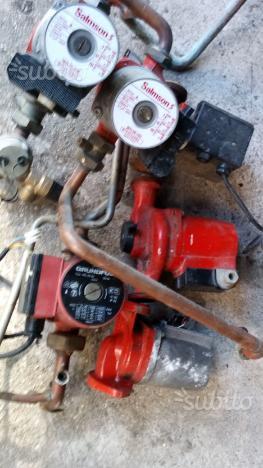 Pompe circolatorie per caldaie