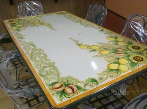 Tavolo in pietra lavica nuovo