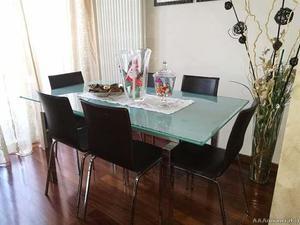 Calligaris eleven tavolo trasformabile vetro posot class for Calligaris allungabile