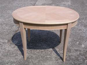 Nuovo tavolo grezzo biella posot class for Tavolo ovale legno grezzo