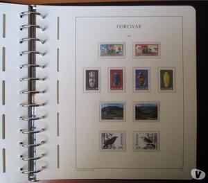 isole FAEROER  collezione COMPLETA fbolli nuovi MNH