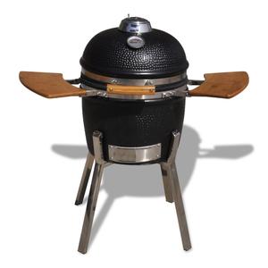 vidaXL Barbecue Kamado in ceramica griglia fumatore 81 cm