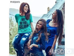 Stock abbigliamento jeans ud firmati