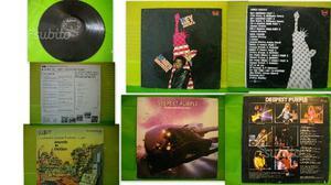 4 LP - DEEP PURPLE - TOM JONES - WESS e 1 MISTO