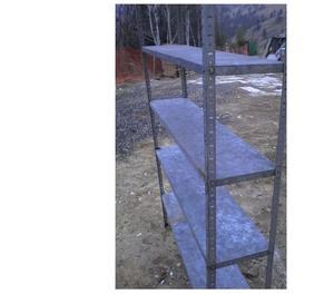 Ripiani in ferro zincato posot class for Prezzo ferro al kg 2017