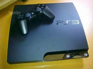 PS3 Slim 120gb+9 Giochi Nuovissimi tra cui PES