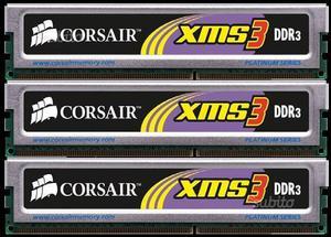 RAM (3X2GB) Corsair XMS3 DDRMHz 6GB CL9