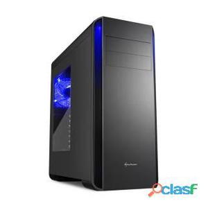 Sharkoon BW9000-W Middle Tower No Power minITX/mATX/ATX Nero