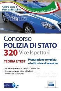 Kit libri concorso vice ispettori polizia