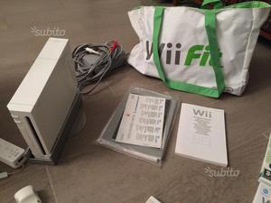 Console Wii+Balance board+giochi