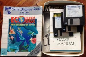 ECOquest Sierra Discovery series Ms dos