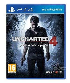 Giochi per ps4 uncharted4 dishonored e altri