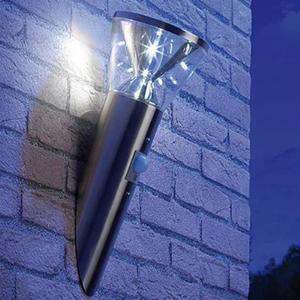 Lampada Da Giardino Ad Energia Solare Con Sensore Pir Di