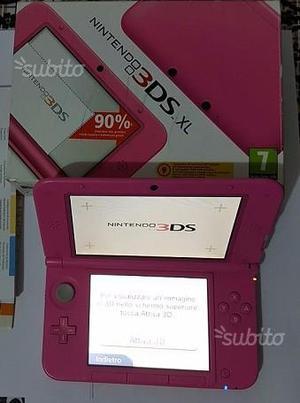 Nintendo 3DS XL rosa come nuova