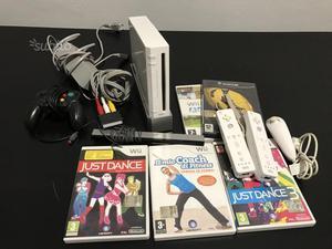 Nintendo Wii 5 giochi 3 controller + Gamecube