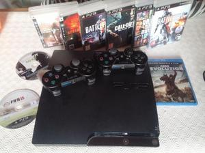 Ps3 slim 120gb 2 controller giochi