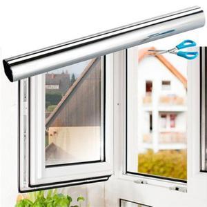 Pellicola a specchio auto adesiva finestre vetri posot class for Pellicola a specchio per vetri