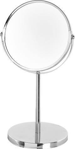 Specchio da muro estensibile in acciaio cromato posot class for Specchio ondulato