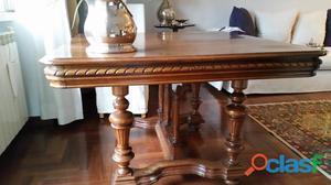 Tavolo rotondo originale antico 800 venezia posot class - Tavolo rotondo antico ...