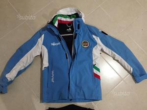 Giacca Felpa Posot Class Fila Maestro Federazione Sci Fisi H1xpvp