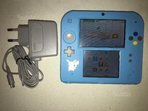 2 Nintendo 2ds 1 Blu/Nera - 1 Pokemon Luna