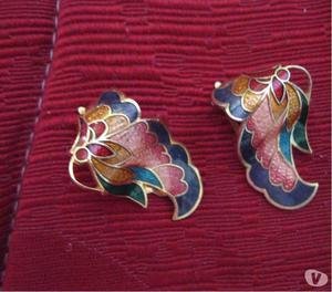 6) Orecchini a clips,lotto di sei coppie di orecchini, più