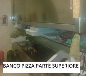 ATTREZZATURA COMPLETA PIZZERIA AL TAGLIO, CUCINA E BAR