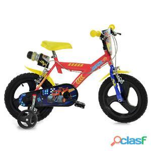 """Bicicletta Blaze Per Bambino 14"""" 2 Freni"""