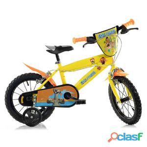 """Bicicletta L'era Glaciale Per Bambino 14"""" 2 Freni"""