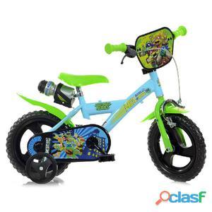 "Bicicletta Ninja Turtles Per Bambino 12"" Eva 1"
