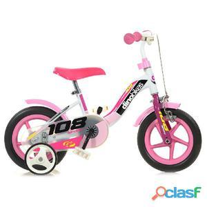"""Bicicletta Per Bambina 10"""" 1 Freno 108fl Girl"""