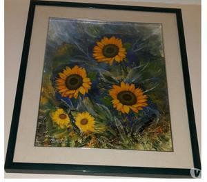 Quadro olio su tela artista mario dini posot class for Cambio arredo cadeo