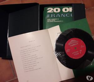 Corso di lingua francese su dischi in vinile