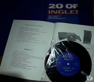 Corso di lingua inglese su dischi in vinile