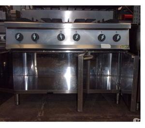 Cucina a gas usata cucina a gas 6 fuochi usata con forno - Cucina inox usata ...