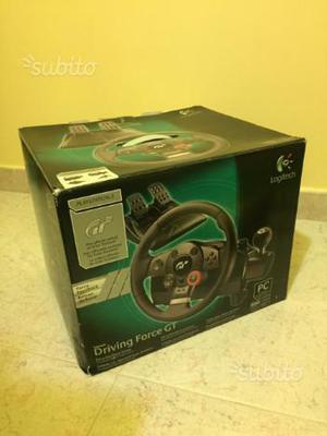 Driving Force GT volante Logitech Ps2 Ps3 pc
