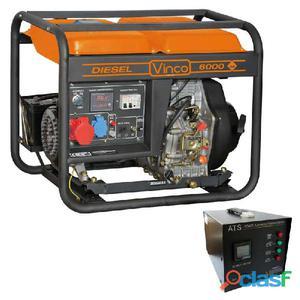 Generatore di corrente trifase monofase 6 kw posot class for Generatore di corrente diesel usato