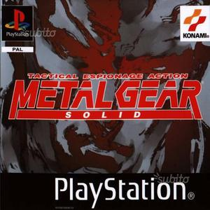 Giochi PSX/PS2/PS3/PS4/PSP/PC Metal Gear Solid