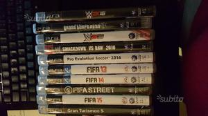 Giochi Vari PS3