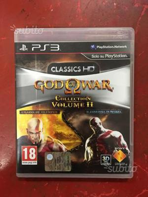 God of war collection volume 2 per ps3